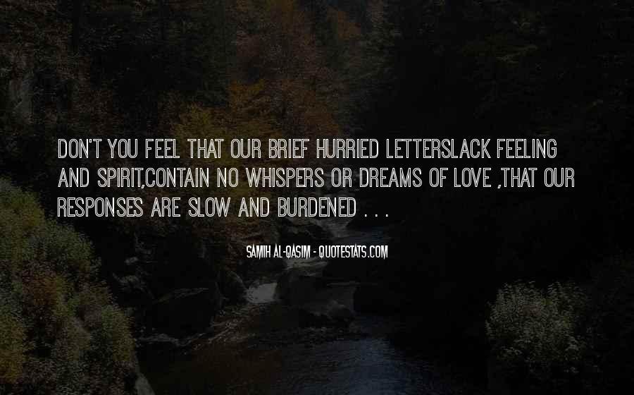 Feeling Burdened Quotes #844871