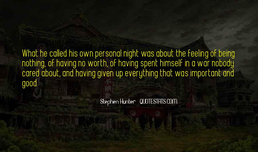 Feeling Cared Quotes #406540