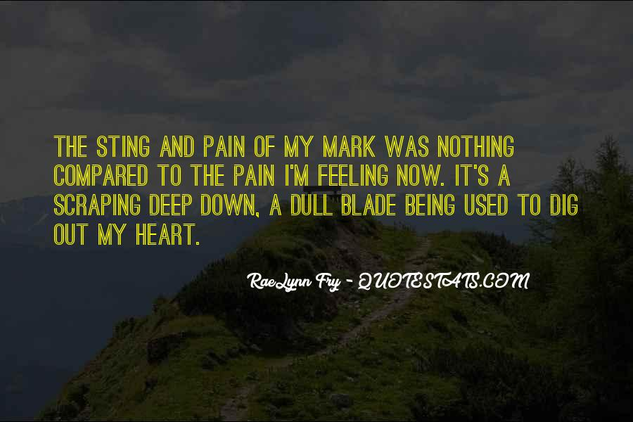Feeling Compared Quotes #1789180