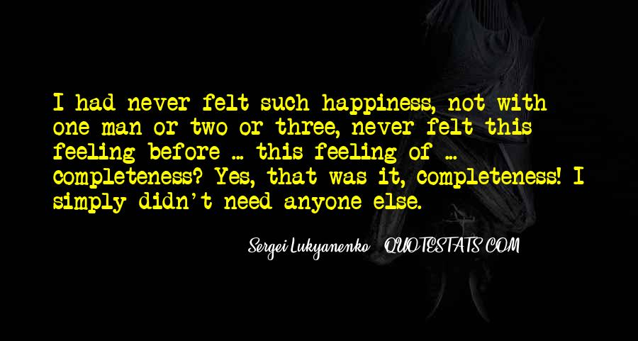 Feeling Complete Love Quotes #1872545