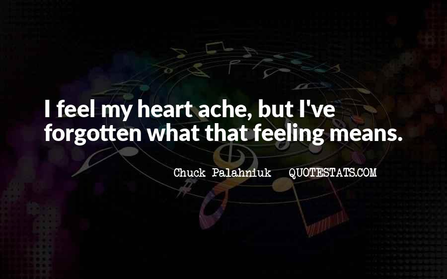 Feeling Forgotten Quotes #1385592