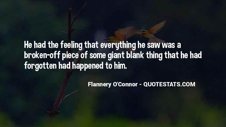 Feeling Forgotten Quotes #1458666