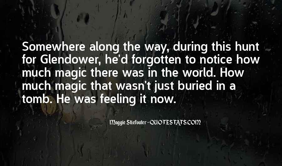 Feeling Forgotten Quotes #1476260