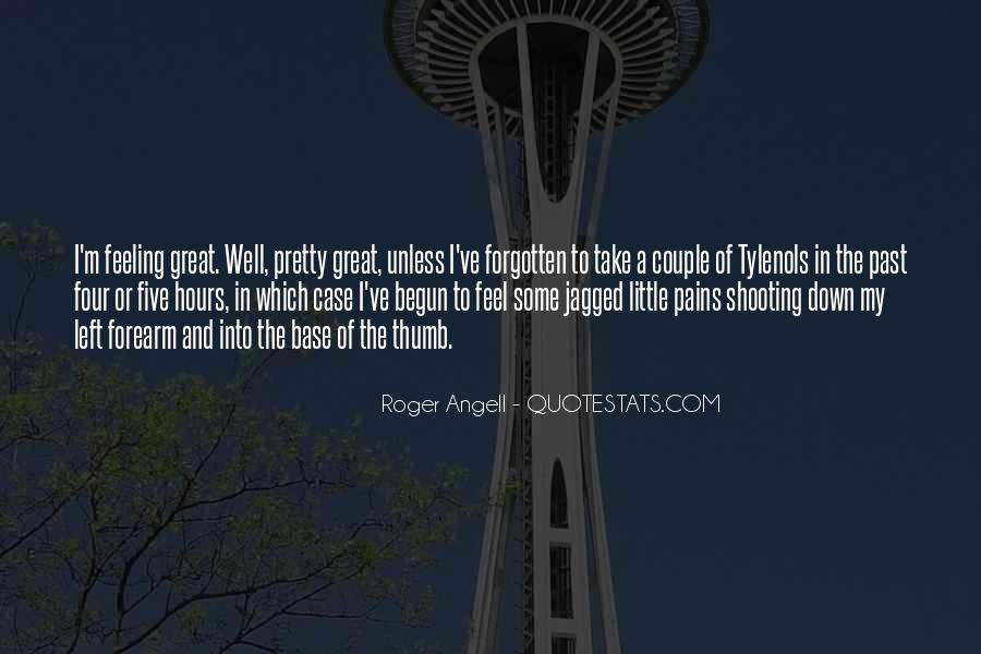 Feeling Forgotten Quotes #26522