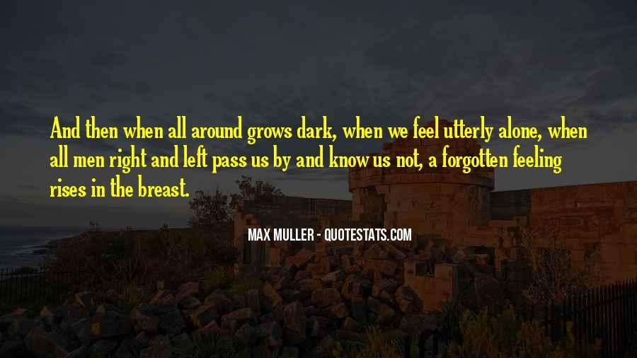 Feeling Forgotten Quotes #350171