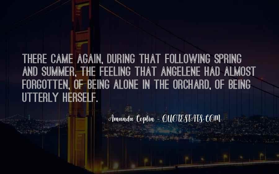 Feeling Forgotten Quotes #664046