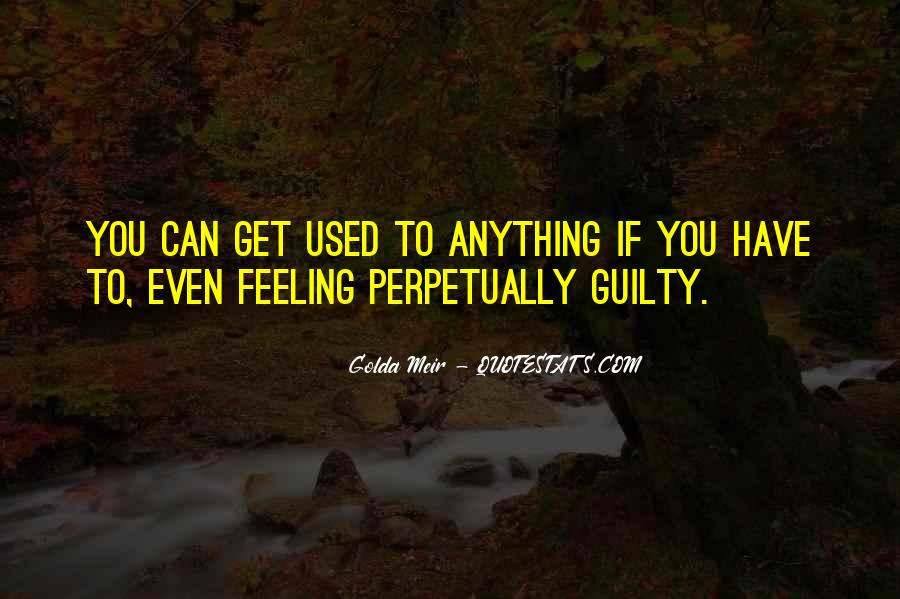 Feeling Guilty And Sorry Quotes #123003