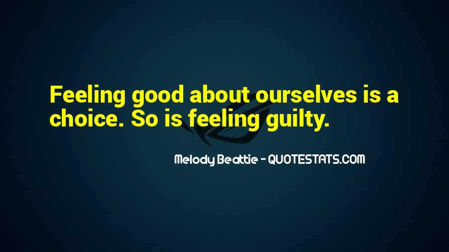 Feeling Guilty And Sorry Quotes #178793