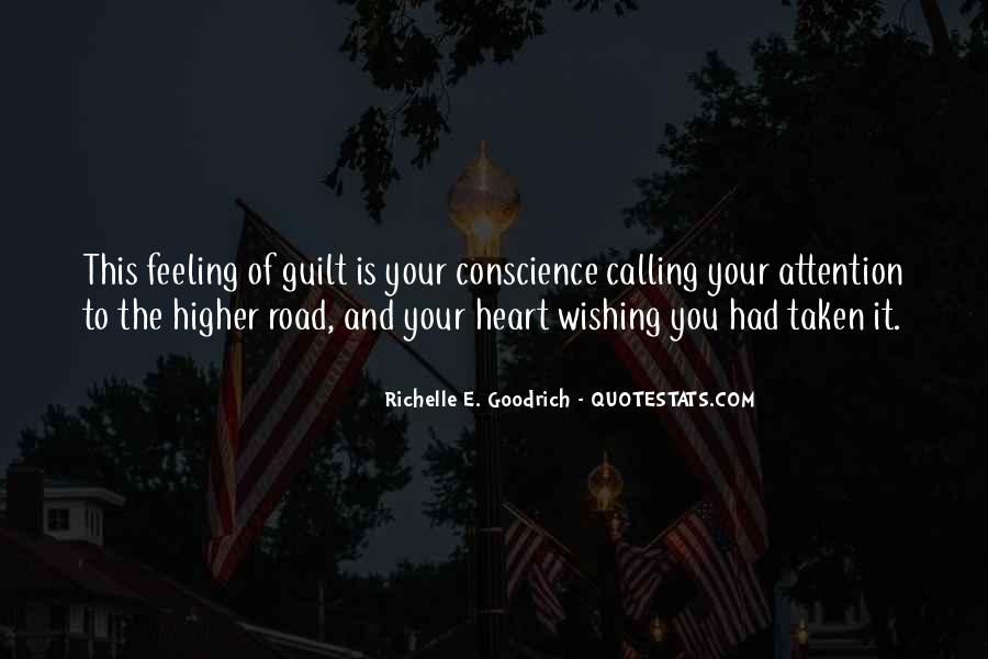 Feeling Guilty And Sorry Quotes #423614