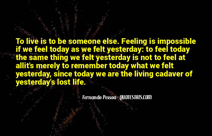 Feeling Lost Life Quotes #244147