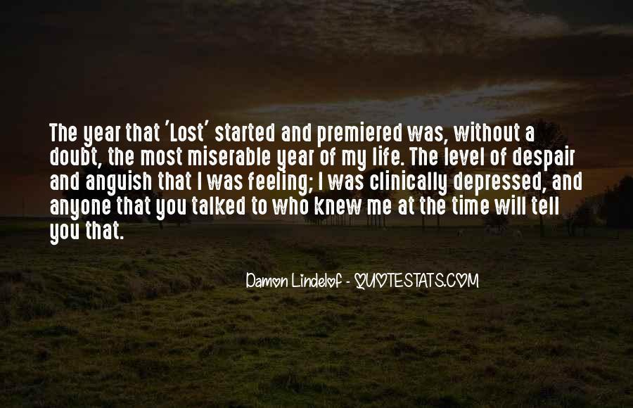 Feeling Lost Life Quotes #278668