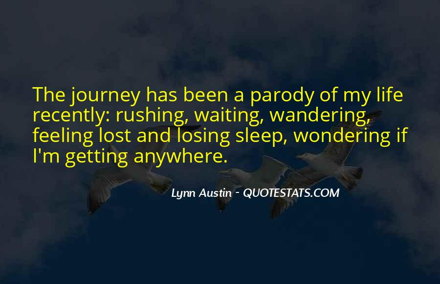 Feeling Lost Life Quotes #428437