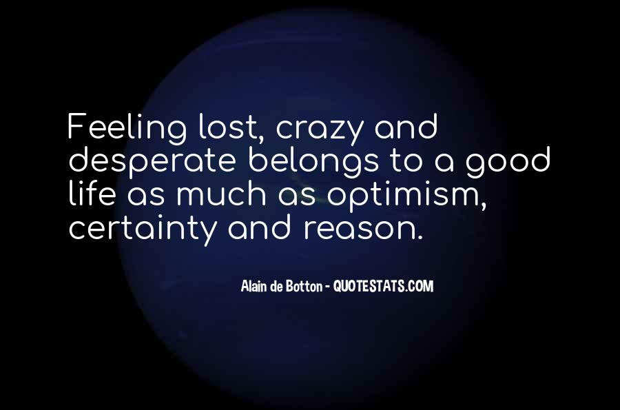 Feeling Lost Life Quotes #699236