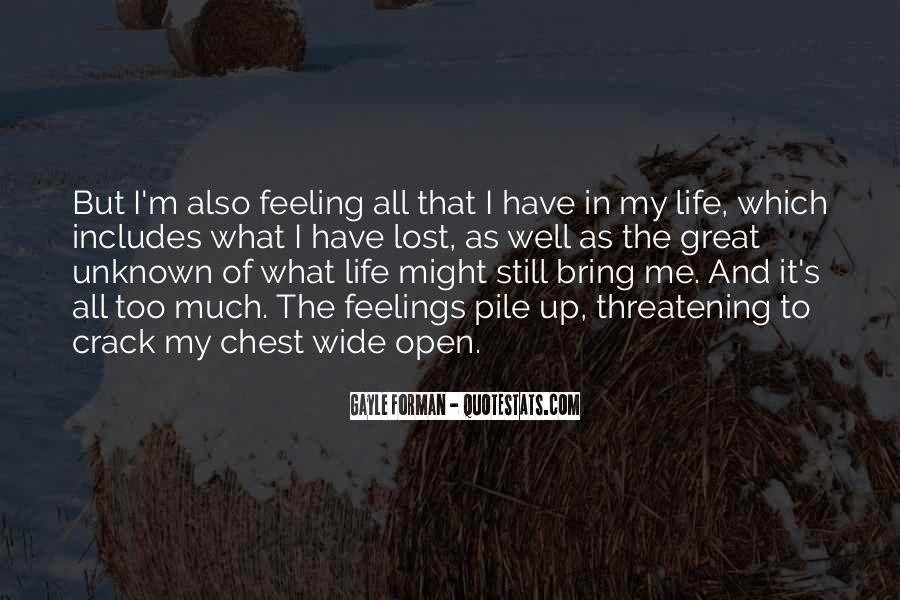 Feeling Lost Life Quotes #713248