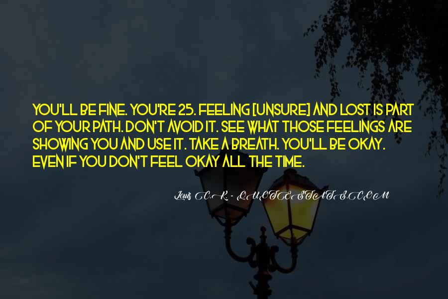 Feeling Lost Life Quotes #982761