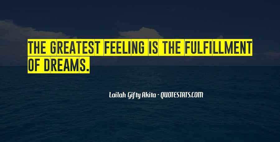 Feeling Of Accomplishment Quotes #1695519