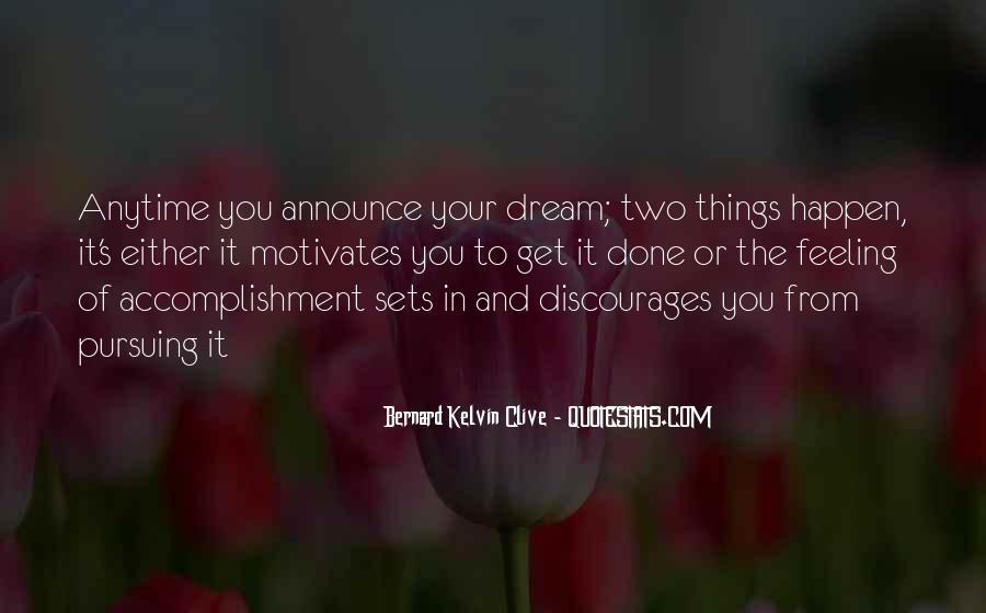 Feeling Of Accomplishment Quotes #438470