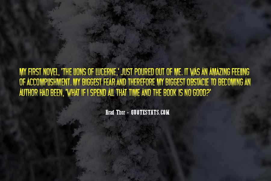 Feeling Of Accomplishment Quotes #5729