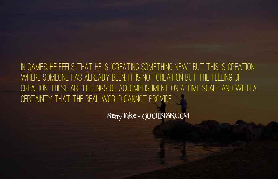 Feeling Of Accomplishment Quotes #614177