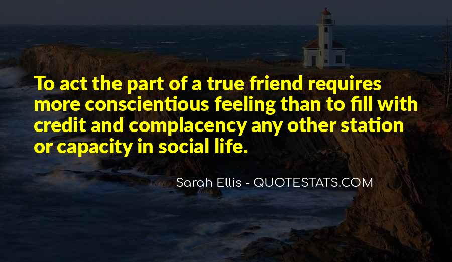 Feeling Of Friendship Quotes #1097685