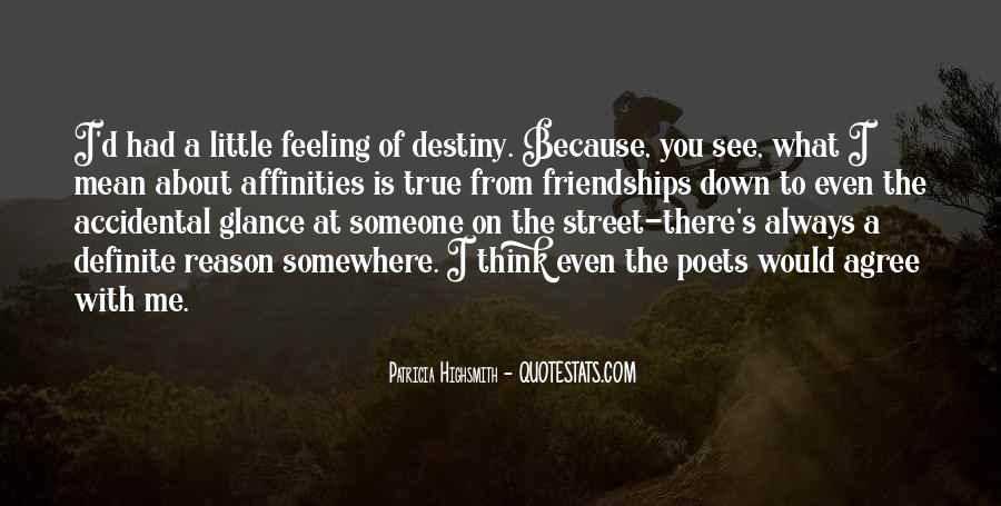 Feeling Of Friendship Quotes #1453242
