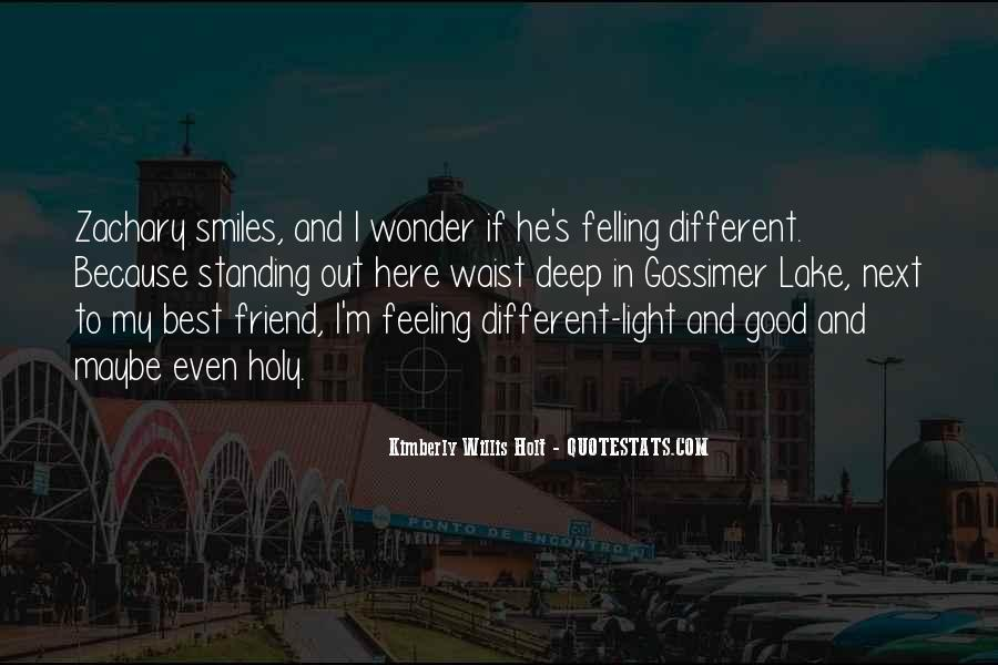 Feeling Of Friendship Quotes #1576916