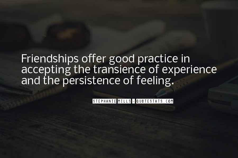 Feeling Of Friendship Quotes #1632618