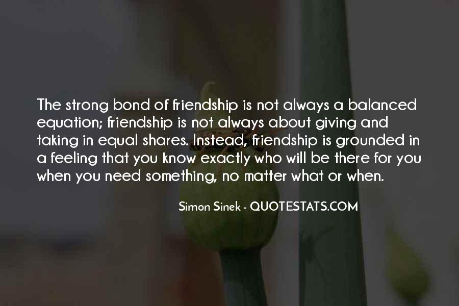 Feeling Of Friendship Quotes #31064