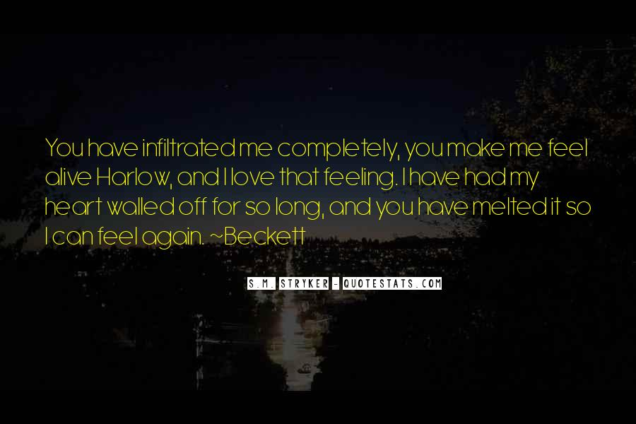 Feeling So Alive Quotes #196267