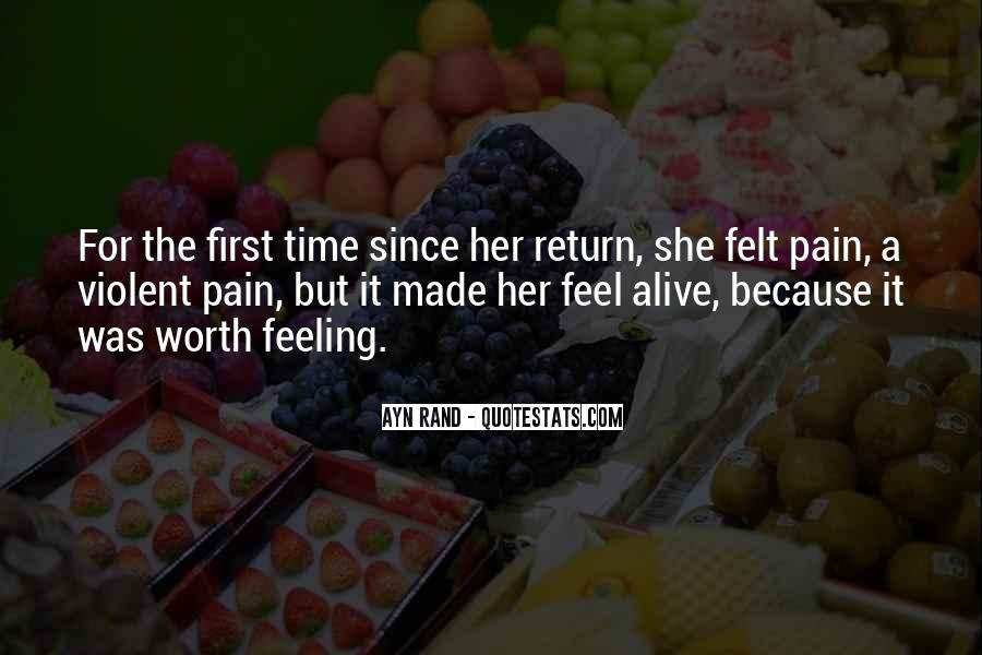 Feeling So Alive Quotes #27002