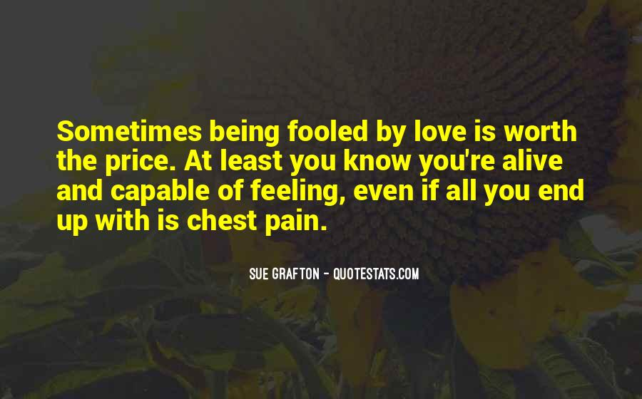 Feeling So Alive Quotes #593789