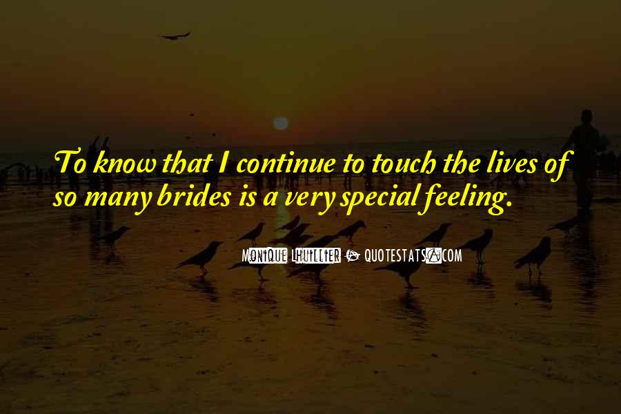 Feeling So Special Quotes #1048585