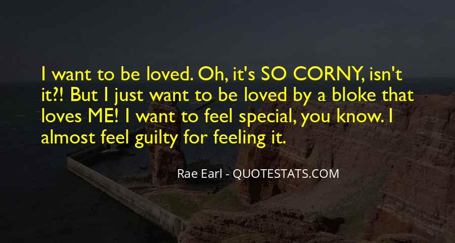 Feeling So Special Quotes #1369211