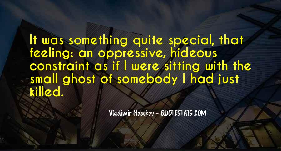 Feeling So Special Quotes #191813