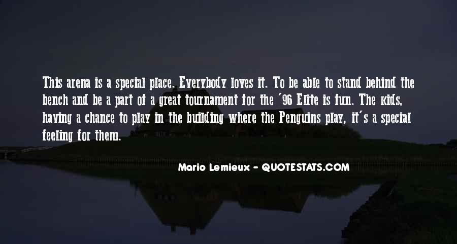 Feeling So Special Quotes #351278
