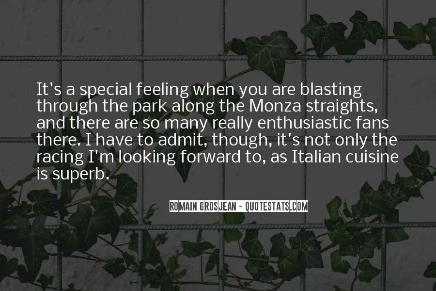 Feeling So Special Quotes #792434