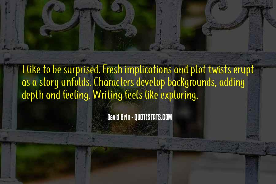 Feeling Surprised Quotes #559353