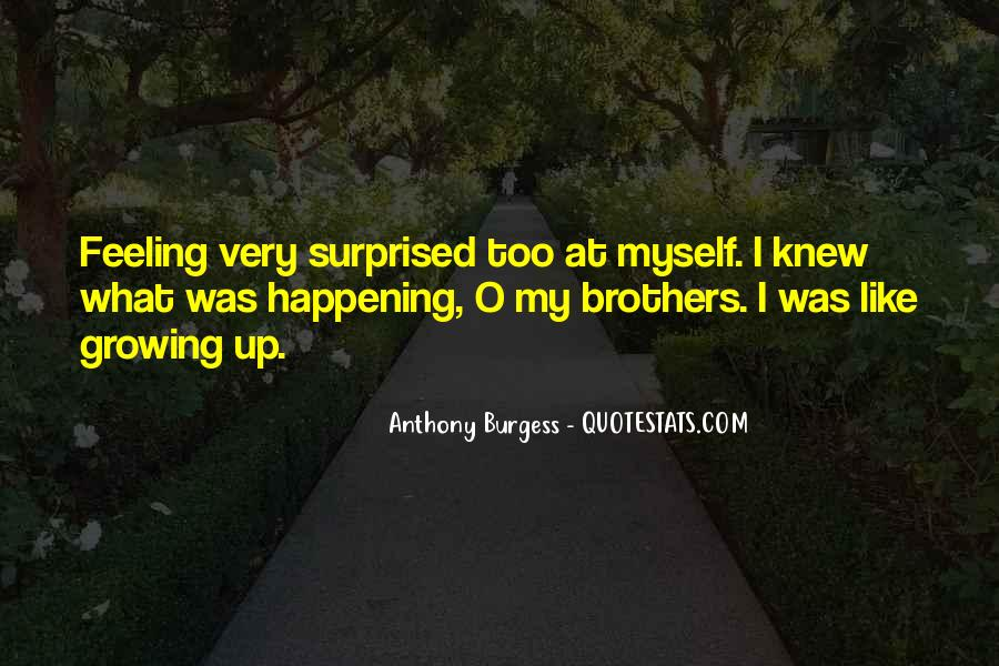 Feeling Surprised Quotes #736133