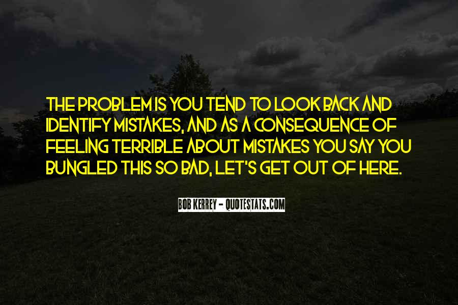 Feeling Terrible Quotes #1384648