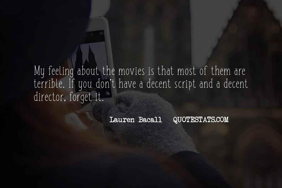Feeling Terrible Quotes #1844737
