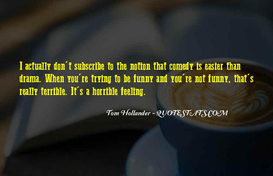 Feeling Terrible Quotes #202554