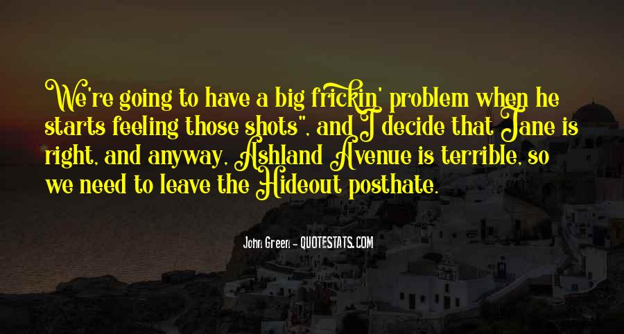 Feeling Terrible Quotes #24420