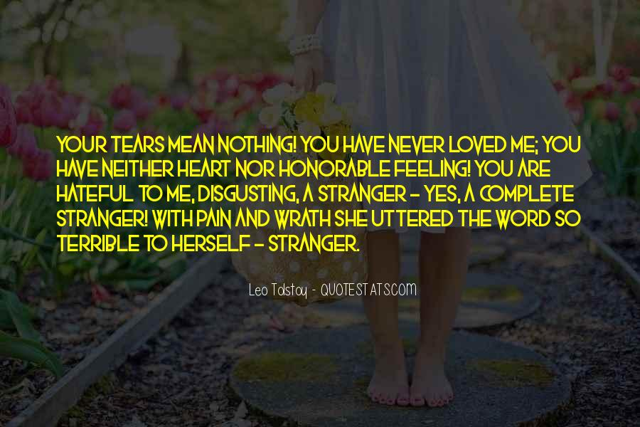 Feeling Terrible Quotes #53708