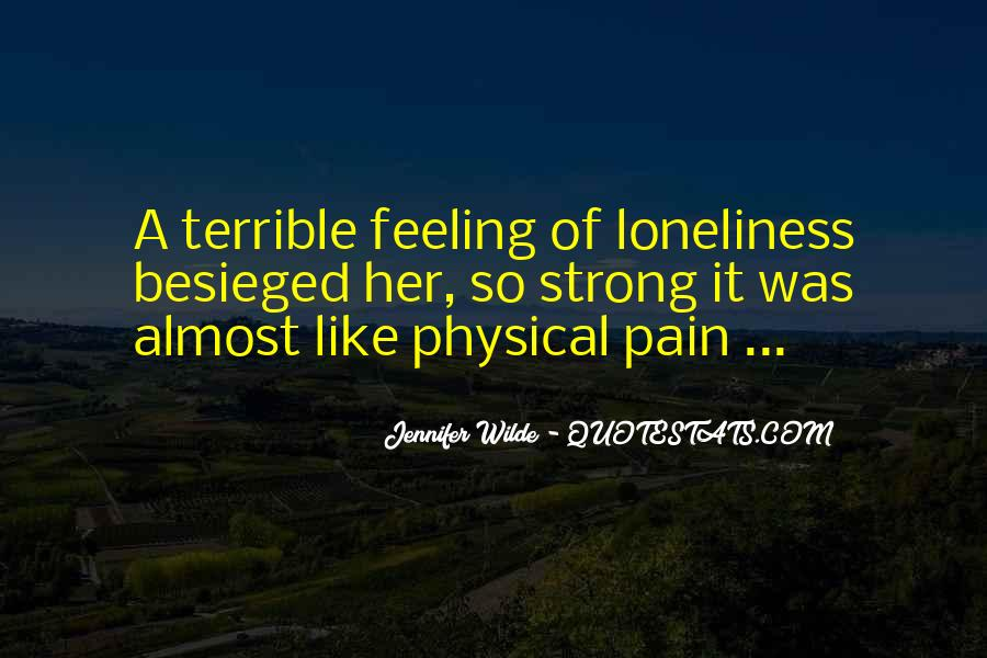 Feeling Terrible Quotes #539674