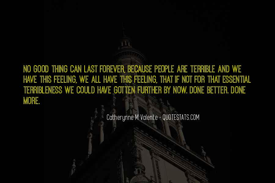 Feeling Terrible Quotes #604766