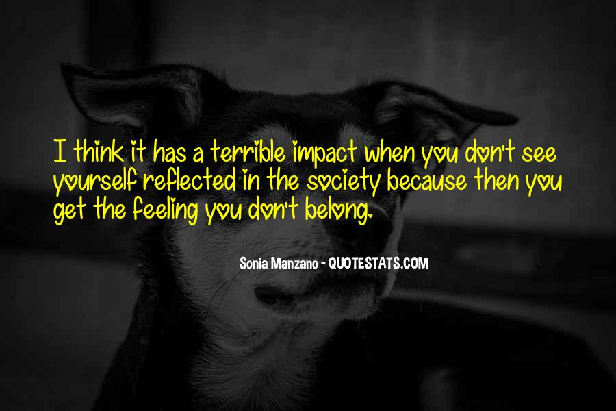 Feeling Terrible Quotes #689024