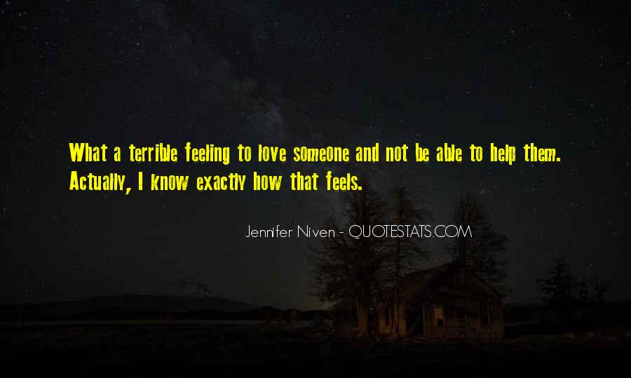 Feeling Terrible Quotes #693596