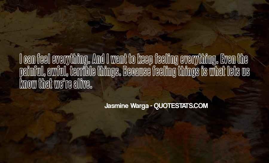 Feeling Terrible Quotes #713885