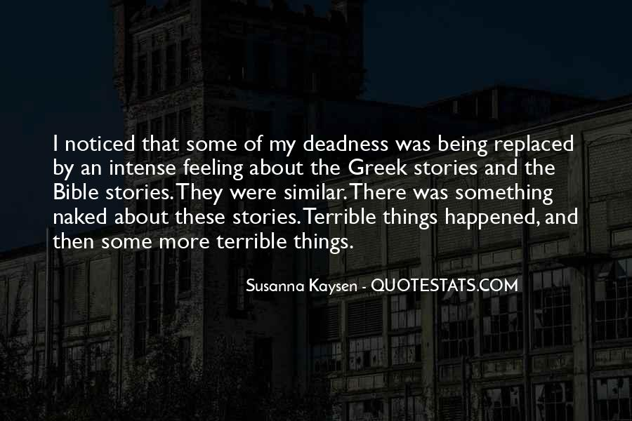 Feeling Terrible Quotes #895561