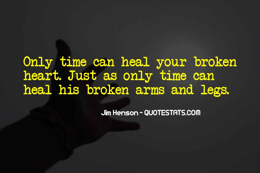 Quotes About Hearts Healing #138775